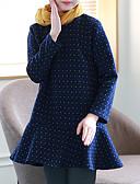 preiswerte Hosen & Leggings für Mädchen-Kinder Mädchen Einfach Lässig / Alltäglich Punkt Langarm Kleid / Baumwolle