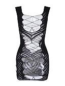 hesapli Seksi Organlar-Kadın's Cosplay Kostümleri Etekler - Solid Örümcek Ağı Siyah XL XXL XXXL / Teddy / Sexy