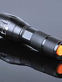 baratos Vestidos de Mulher-Lanternas LED LED 3000lm 5 Modo Iluminação Com Pilha e Carregador Zoomable / Foco Ajustável / Recarregável Campismo / Escursão /