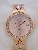 baratos Relógios da Moda-Mulheres Relógio de Moda Relógio Casual Lega Banda Fashion / Elegante Prata / Dourada