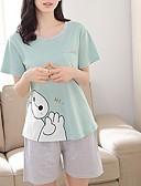 olcso Szexi testek-U-alakú Ruhák Pizsamák Női - Színes / Nyár