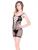 billige Truser-Dame Super Sexy Dress Nattøy - Jacquardvevnad, Netting