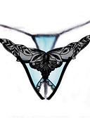 ieftine Lenjerie la Modă-Pentru femei Brodată Linie G & Tanga Talie Joasă