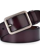 abordables Chaquetas y Abrigos de Hombre-Unisex Legierung Cinturón de Cintura - Trabajo / Activo Un Color