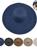 זול ילדים כובעים ומצחיות-כובע לטיולי הליכה כובע רחב פנל אחד קרם הגנה עמידות UV ייבוש מהיר נשימה קש קיץ ל בגדי ריקוד נשים צעידה פעילות חוץ לטייל קרם
