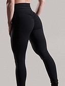 cheap Men's Exotic Underwear-Women's Basic Legging - Solid Colored Mid Waist / Spring / Summer / Sporty Look