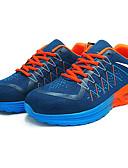ieftine Tricou Bărbați-Bărbați Plasă Toamnă Confortabili Adidași de Atletism Alergare Portocaliu / Rosu / Verde și Albastru
