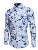 cheap Men's Hoodies & Sweatshirts-Men's Basic Shirt - Floral