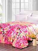 cheap Women's Pants-Comfortable - 1pc Bedspread Summer Polyester Floral