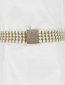 cheap Women's Belt-Women's Cute Imitation Pearl / Alloy Skinny Belt / All Seasons