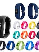 halpa Smartwatch-nauhat-Watch Band varten Garmin vívofit jr Garmin Urheiluhihna Silikoni Rannehihna