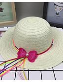 זול ילדים כובעים ומצחיות-מידה אחת סגול / צהוב / פוקסיה כובעים ומצחיות רזה חג יומי בסיסי יוניסקס פעוטות