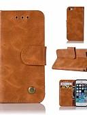 levne Pánské blejzry a saka-Carcasă Pro Apple Pouzdro iPhone 5 Peněženka / Pouzdro na karty / se stojánkem Celý kryt Jednobarevné Pevné PU kůže pro iPhone SE / 5s / iPhone 5