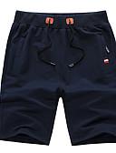 ieftine Maieu & Tricouri Bărbați-Bărbați Bumbac Pantaloni Chinos / Pantaloni Scurți Pantaloni Mată / Club / Plajă