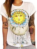tanie T-shirt-T-shirt Damskie Podstawowy Geometric Shape
