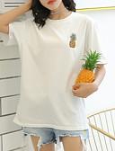 ieftine Tricou-tricou pentru femei - gât rotund din fructe