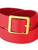 povoljno Ženski kaputi i baloneri-Ogrlice-kragna - Koža Moda Crn, Crvena 42 cm Ogrlice Jewelry Za Dnevno