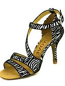 رخيصةأون هدايا-الجلد المدبوغ أحذية الرقص العليا مخصصة للنساء
