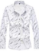 povoljno Muške košulje-Majica Muškarci Dnevno / Rad Geometrijski oblici
