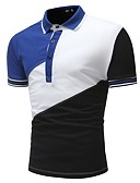 olcso Férfi pólók-Alap Férfi Polo - Színes
