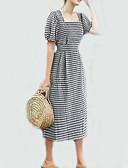 preiswerte Damen Kleider-Damen Retro Hülle Kleid Verziert Midi