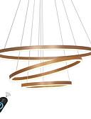 preiswerte Höschen-Ecolight™ Geometrisch Kronleuchter Raumbeleuchtung Metall Acryl Verstellbar, Abblendbar 110-120V / 220-240V Wärm Weiß / Weiß / Dimmbar mit Fernbedienung LED-Lichtquelle enthalten / integrierte LED