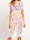 זול שמלות נשים-מידי שמלה ישרה חוף בגדי ריקוד נשים