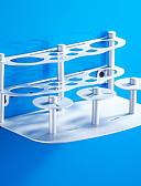 ieftine Accesorii toaletă-Raft Baie / Suport Perie Dinți Model nou Modern Aluminiu 1 buc Montaj Podea