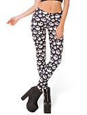 ieftine Leggings-Pentru femei Zilnic Sport Legging - Geometric / Bloc Culoare Talie medie