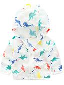 billige Ytterklær til baby-Baby Unisex Aktiv Trykt mønster Langermet Normal Polyester Dress og blazer Hvit