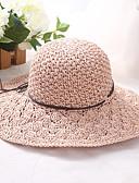 رخيصةأون قبعات نسائية-قبعة الماصة سادة أساسي / عطلة للمرأة