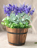 olcso Női Pulóverek-Művirágok 1 Ág Klasszikus Stílusos / Rusztikus Világoskék Asztali virág