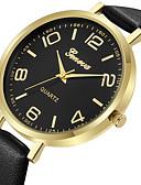 ieftine Quartz-Geneva Pentru femei Ceas Elegant Ceas de Mână Quartz Model nou Ceas Casual Cool Piele Bandă Analog Casual Modă Negru / Maro - Argintiu / negru Maro Auriu Roz auriu Un an Durată de Viaţă Baterie
