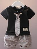 povoljno Hlače za dječake-Dijete koje je tek prohodalo Dječaci Jednobojni Kratkih rukava Komplet odjeće