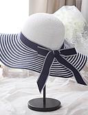 رخيصةأون فساتين الاشبينات-قبعة الماصة ألوان متناوبة نسائي أساسي / عطلة