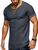 povoljno Muške majice i potkošulje-Majica s rukavima Muškarci - Osnovni Dnevno Jednobojni