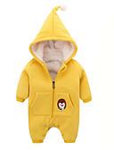 povoljno Vanjska odjeća za bebe-Dijete Djevojčice Jednobojni Dugih rukava Kombinezon