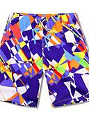 abordables Relojes Deportivo-Hombre Activo Shorts Pantalones - Geométrico / Bloques