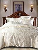 preiswerte Exotische Herrenunterwäsche-Bettbezug-Sets Luxus Polyester Jacquard 4 StückBedding Sets / 300 / 4-teilig (1 Bettbezug, 1 Bettlaken, 2 Kissenbezüge)