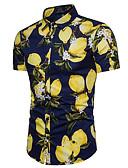 ieftine Maieu & Tricouri Bărbați-Bărbați Cămașă Activ / Exagerat - Fruct Imprimeu