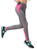 voordelige Hardloopshirts, -broeken en -shorts-Dames Patchwork Yoga broek - Geel, Rose Rood, Hemelsblauw Sport Broeken / Regenbroek / Overbroek Pilates, Training&Fitness, Hardlopen Grote maten Sportkleding Sneldrogend, Ademend, Power Flex Hoge