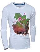 povoljno Muške majice i potkošulje-Majica s rukavima Muškarci Dnevno Cvjetni print