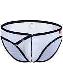 baratos Moda Íntima Exótica para Homens-Homens Cuecas Estampa Colorida Cintura Baixa