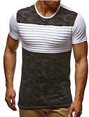 billige T-skjorter og singleter til herrer-T-skjorte Herre - Fargeblokk Aktiv / Grunnleggende