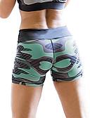 ieftine Leggings-Pentru femei Zilnic Sport Legging - Geometric / camuflaj Talie medie