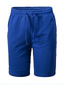 ieftine Pantaloni Bărbați si Pantaloni Scurți-Bărbați De Bază Pantaloni Chinos Pantaloni - Mată Imprimeu Gri Închis