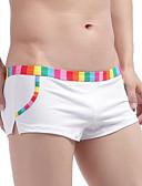 preiswerte Bademode für Herren-Herrn Solide - Boxer Niedrige Taillenlinie