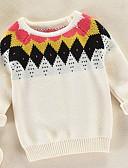 povoljno Hlače za dječake-Djeca Dječaci Osnovni Jednobojni Dugih rukava Poliester Džemper i kardigan Obala