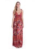 baratos Vestidos de Mulher-Mulheres Para Noite Delgado Bainha Vestido Com Alças Longo