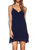 ieftine Dresses For Date-Pentru femei De Bază Pantaloni - Mată Bleumarin / Cu Bretele